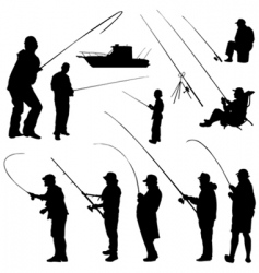 fisher set vector image