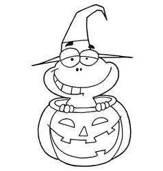 Royalty Free RF Clipart Cartoon Character vector image vector image