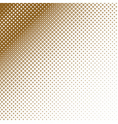 Abstract halftone square background vector