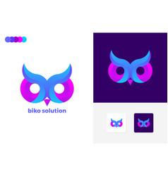 Biko solution logo template design vector