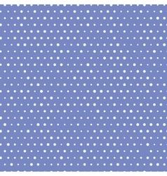 Blue Polka Seamless vector image