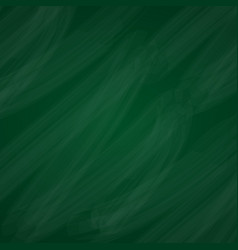 green chalkboard background vector image