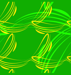 pattern from light green and yellow lines vector image