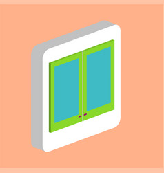window computer symbol vector image