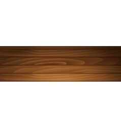 Banner of brown boards vector image
