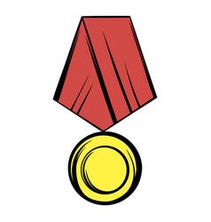 medal icon cartoon vector image vector image