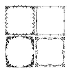 frames set vector image vector image