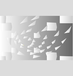 abstract background with flying falling vector image