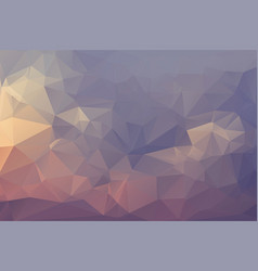 Abstract geometric background with triangles vector
