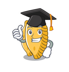 Graduation pastel character cartoon style vector