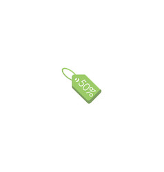 green coupon logo design symbol dan icon template vector image