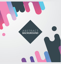 modern diagonal abstract background design vector image