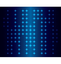 abstract background with blue neon lights vector image vector image