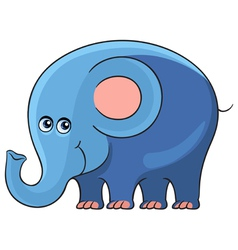 Elephant Cartoon african wild animal character vector image vector image