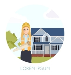 Home building banner3 vector
