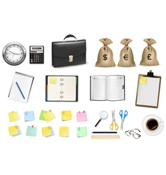 office items vector image
