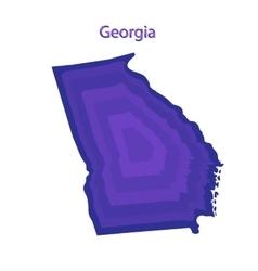 United States Georgia vector image vector image