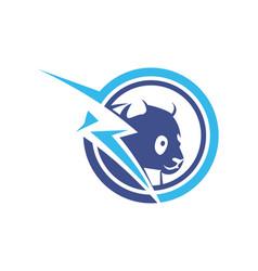 Bear logo icon designs power logo vector
