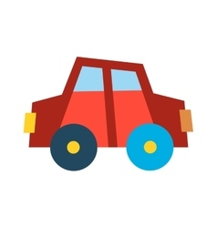 Car vechicle flat transport vector