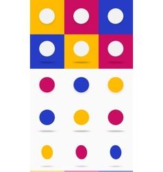 Circle set vector