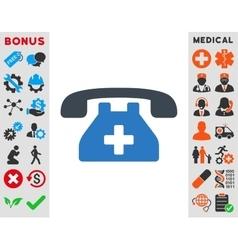 Clinic Phone Icon vector