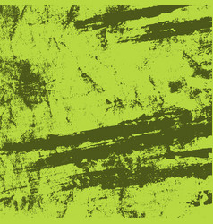 distress green texture vector image