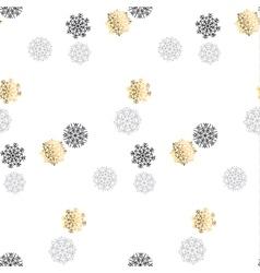 Elegant fancy light snowflake motif flake snow vector