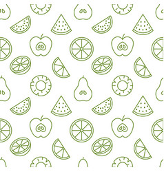 Fruit background abstract food seamless pattern vector
