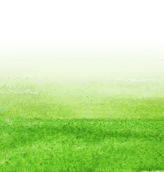 Green Watercolor Background vector image