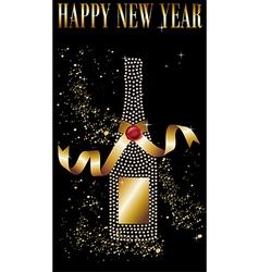 Happy new year celebration vector