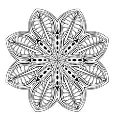mandala 02 vector image