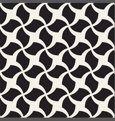 seamless geometric pattern - monochrome vector image