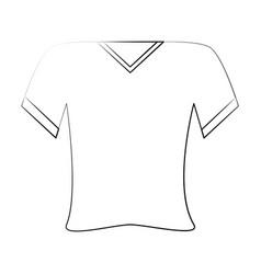 Shirt v neck icon image vector