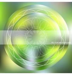 background with a circular pattern vector image vector image