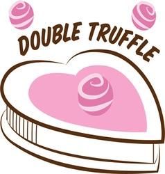 Double truffle vector