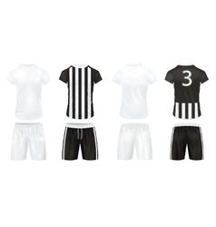 Sport Clothes Icon Set vector image