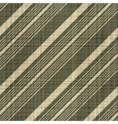 Decorative striped textured textile print vector