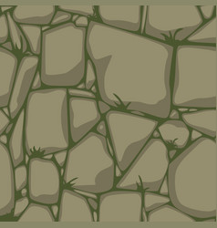 flat seamless stone texture stones background vector image