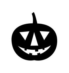 Jack-o-lantern happy halloween icon vector