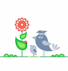 learning nature vector image