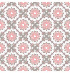Seamless hand drawn mandala pattern for printing vector