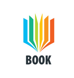 sign book vector image