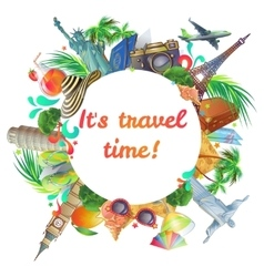 Travel time round composition vector