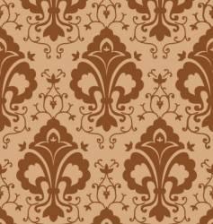 vintage chocolate pattern vector image