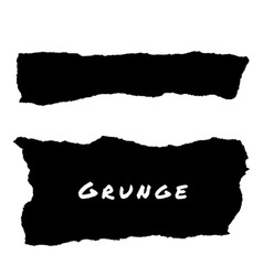Hand Drawn Grunge Lacerated Backgrounds vector image vector image