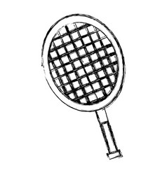 Tennis racket equipment vector