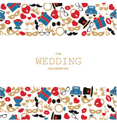 wedding background wedding background vector image vector image