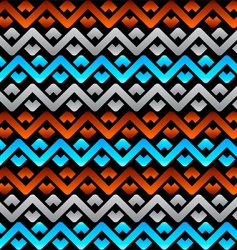 Celtic linen pattern vector image vector image