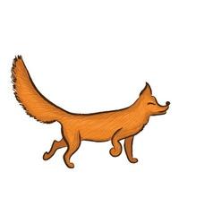 fox1 vector image