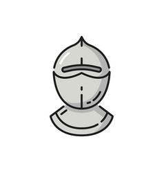 ancient protection cap portugal warrior protection vector image